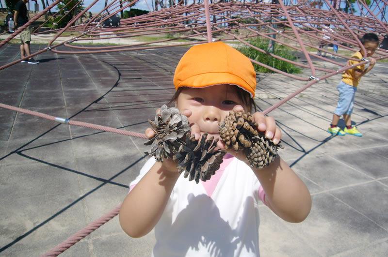 西新の保育園 にしじん森の子保育園|公園遊び