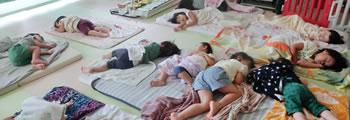 12:30〜 お昼寝